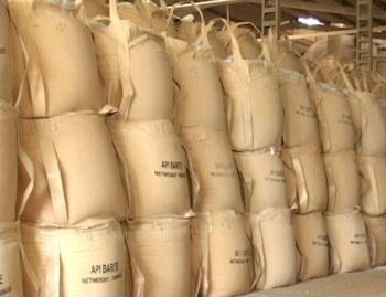 Xuất khẩu bột barite sang Malaysia