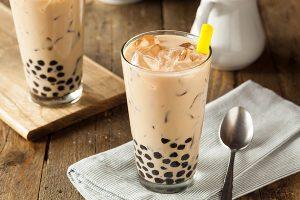 nhập khẩu nguyên liệu trà sữa